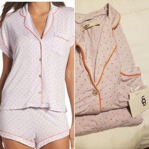 Ugg Amelia Pajamas in Polka Dot